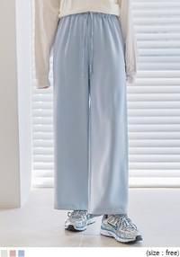 ANDRY BANDING WIDE PANTS