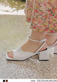STAR SQUARE MIDDLE HEEL
