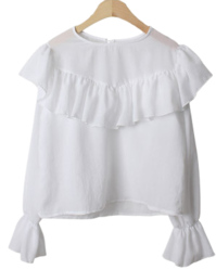 Mitte frill blouse