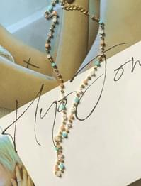 Mix color beads necklace