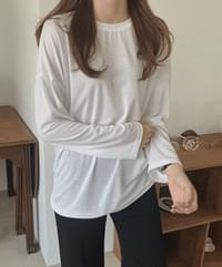 Number Color Long Sleeve Tee