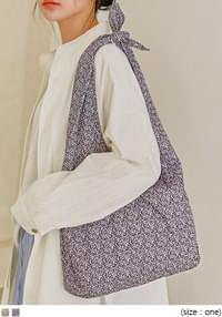 LUND PATTERN KNOT COTTON BAG