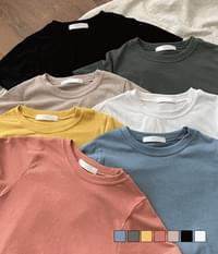 Light and stiff short-sleeved T-shirt