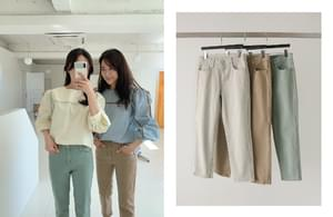 Pigment 8.5 part cropped pants