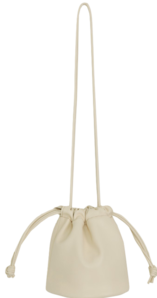 Soft mini bucket bag