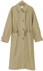 Modern String Trench Coat