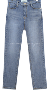 CHRISTINE STRAIGHT DENIM PANTS