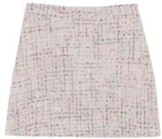 Serie tweed skirt