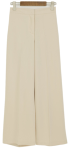 Modern wide banding pants