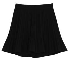 Tulle pleated mini skirt
