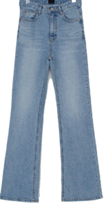 Natural Wash Bootcut Jeans