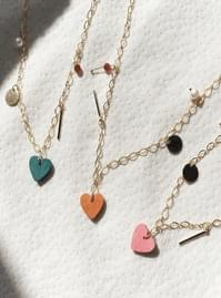Raleigh heart necklace