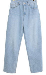 Isle wide denim pants