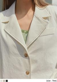 LUIKA STITCH LINEN JACKET