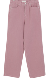 Color Cotton Date Pants