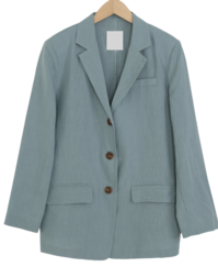 Daily linen single jacket