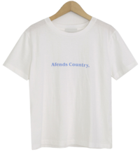 Country Lettering Short Sleeve Tee