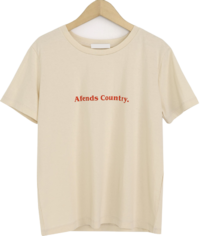Country Lettering Short Sleeve Tee 短袖上衣