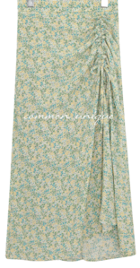 MIREN FLOWER STRING LONG SKIRT