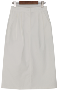 Standard cotton long skirt