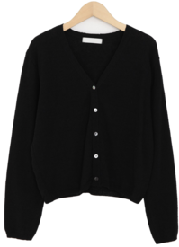 Clotty V Neck Cardigan