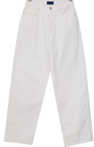 Boy Fit Wide Cotton Pants