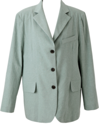 Pigment Washing Linen Jacket
