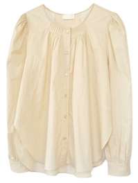 pintuck point blouse