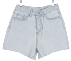 Short basic denim shorts
