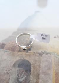 spinel silver 925 ring