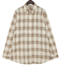 DIROS CHECK LOOSE FIT SHIRTS