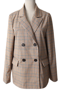 Term's Check Double Jacket
