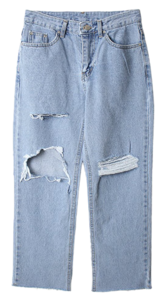 Romen Damage Denim Pants