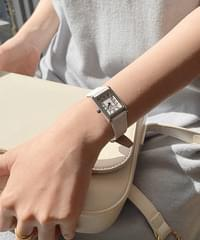 Square frame watch