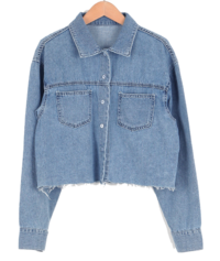 Vintage cut denim shirt