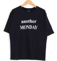 Another lettering round t-shirt