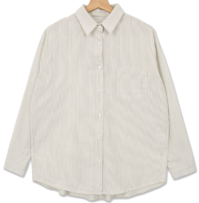 French rubber striped shirt