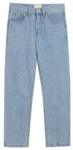 8261 denim long pants