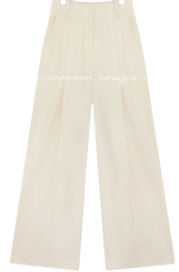 PEDRI LINEN PINTUCK WIDE PANTS