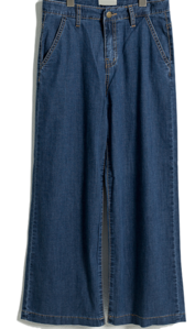Span slim wide pants