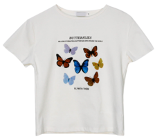 Crop My Butterfly T-shirt