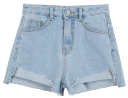 623 clean denim shorts