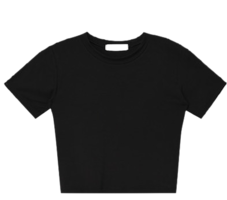 Inder crop t-shirt