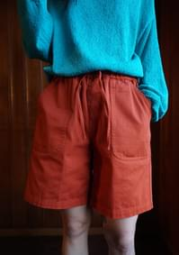 cotton banding shorts
