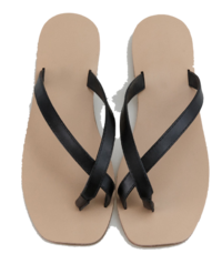 Rounding Square Slippers