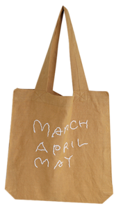 Embroidery Lettering Eco Bag 帆布包