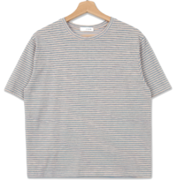 《Planned Products》 PBP.Cool Stripe Short Sleeve Tee