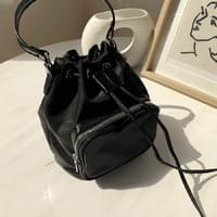Daily nylon pouch bucket bag shoulder bag bag