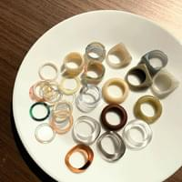Homica marble point ring