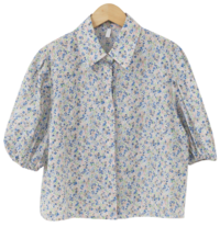 Blooming Flower Shirring Blouse 襯衫
